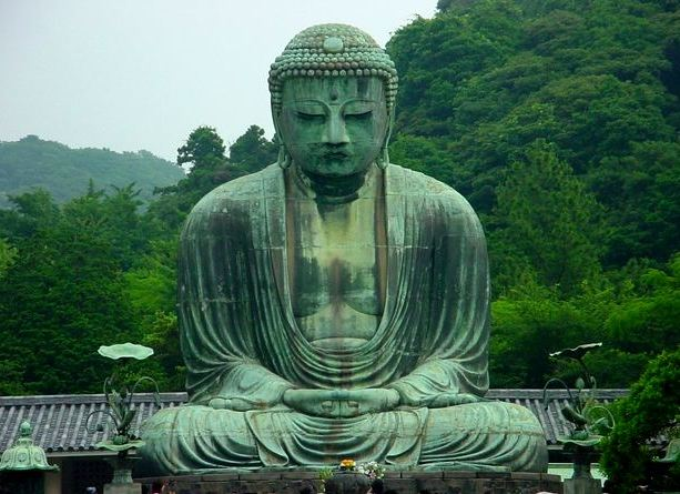 The Great Bronze Daibutsu of Kamakura, Japan
