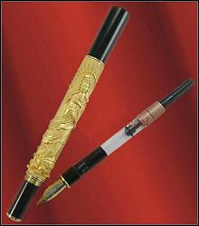 jinhao antique kwan-yin fountain pen