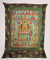 Tibetan Thangka - original painting  - early 20th century